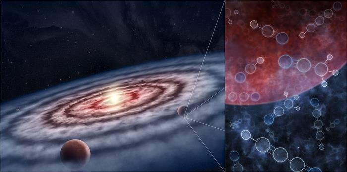 [사이테크 플러스] '행성 탄생' 원시 행성계 원반에 유기 물질 다량 존재한다