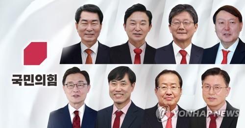 野 4강 짜내기 시작…尹 토론 데뷔, 잔뜩 벼르는 洪·劉