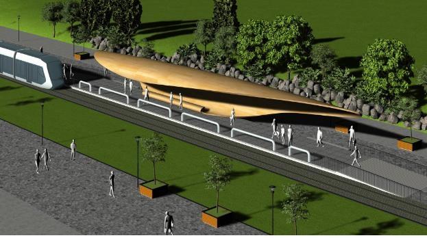 서울시, 위례선 트램 정거장 디자인 당선작 선정