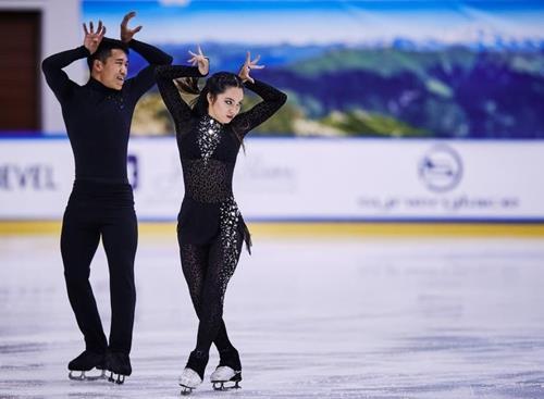 피겨 임해나-취안예, 주니어그랑프리 4차 대회서 최종 6위