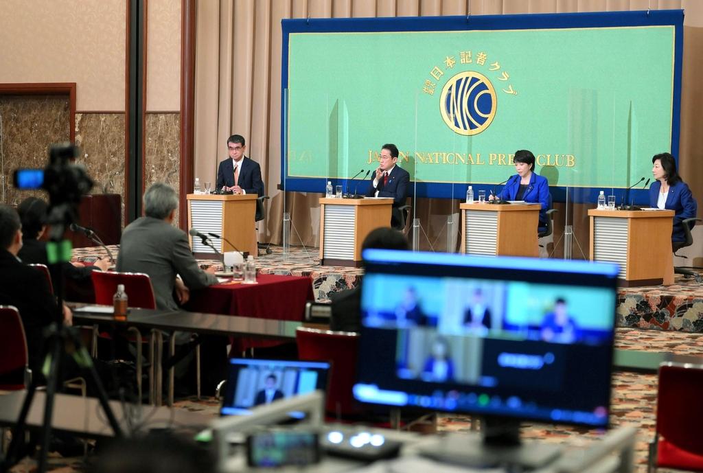 """일본 차기 총리 후보 기시다 """"위안부 문제 해결의 공은 한국에"""""""