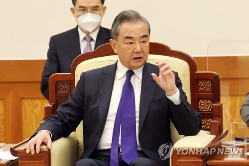 오커스 출범 속 중국 외교장관, 우방에 '공평·정의' 강조