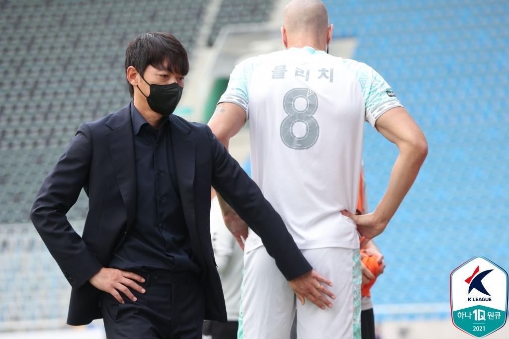 K리그1 성남, 인천 1-0 잡고 잔류 기대감↑…뮬리치 결승골
