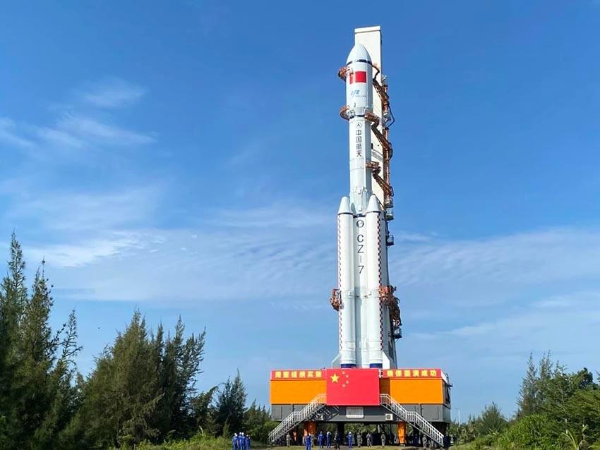 중국 우주정거장 건설 박차…오늘 비행사 보급품 6t 로켓 배달