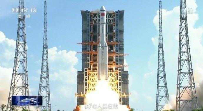 중국, 우주정거장 건설을 위한 두번째 화물우주선 발사(종합)