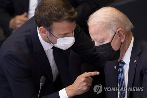 미-프랑스 정상 내달 회담·주미프랑스대사 복귀…관계 복원되나(종합)