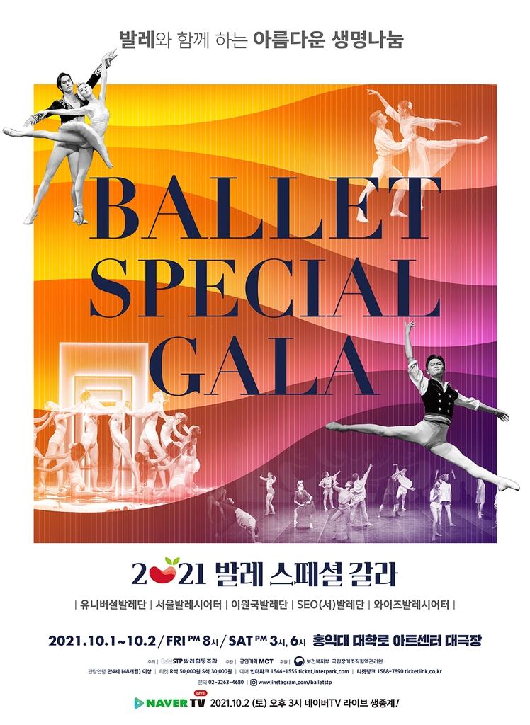 5개 민간 발레단 공연 한무대서 즐기는 '발레 스페셜 갈라'
