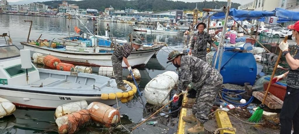 [#나눔동행] 30년간 봉사 매진…울산 해병대전우회 산증인 이상수씨