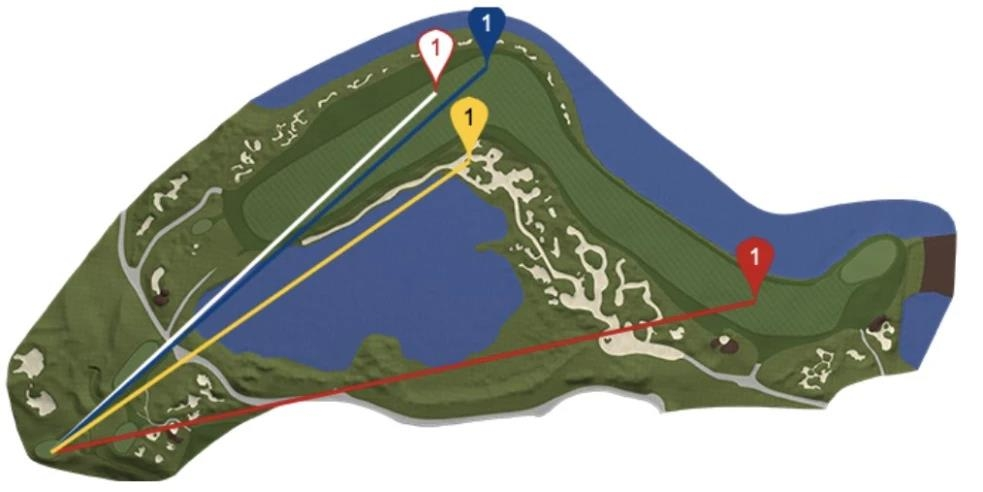 'Long Hit King' De Chambo explodes 417-yard tee shot at Ryder Cup...  lightly eagle