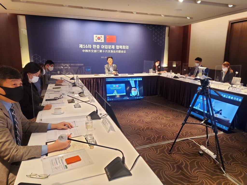 정부, 한중 어업 협력회의서 중국에 불법조업 근절 당부