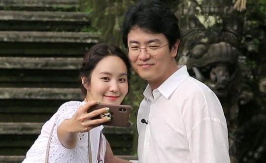 최동석 KBS 아나운서와 박지윤 부부 /사진=방송화면 캡처