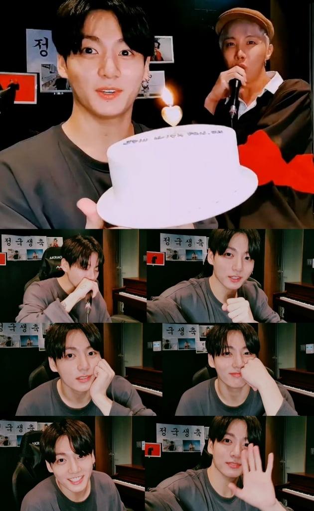 방탄소년단 정국 생일 '개인 방송' 2000만 동시 시청...23억 '좋아요♥'+6500만 '댓글'