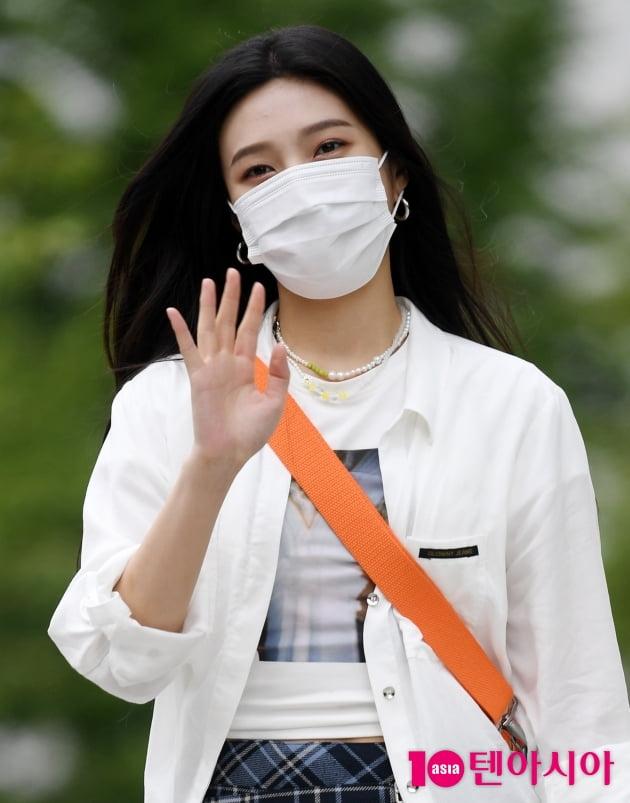 [TEN 포토] 레드벨벳 조이 '찰랑이는 머릿결에 크러쉬도 철렁'