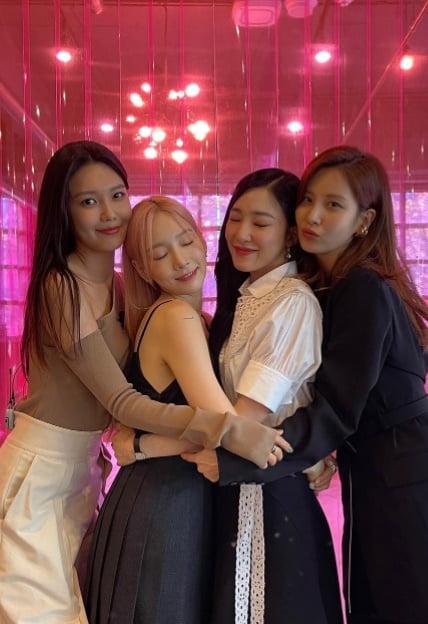 소녀시대 멤버들/ 사진=인스타그램