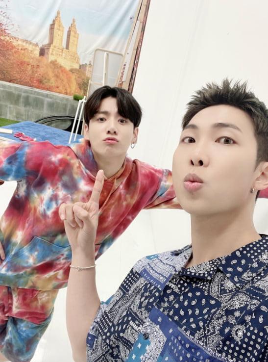 방탄소년단 정국-RM./ 사진=트위터