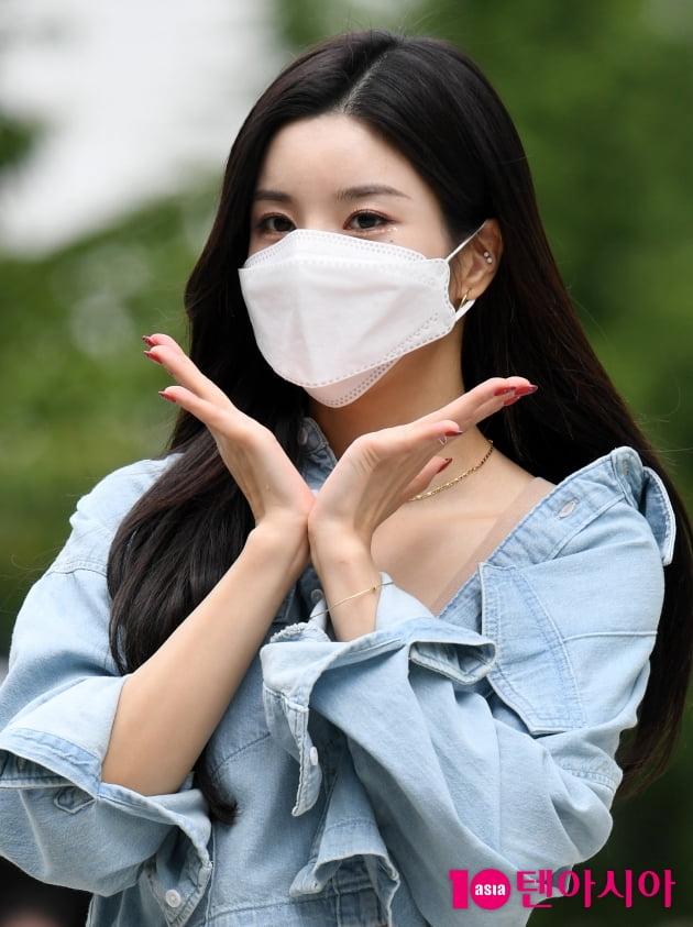 [TEN 포토] 권은비 '아름다운 꽃 한송이'