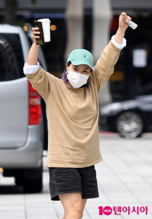 [TEN 포토] 신봉선 '컬투쇼 왔어요'