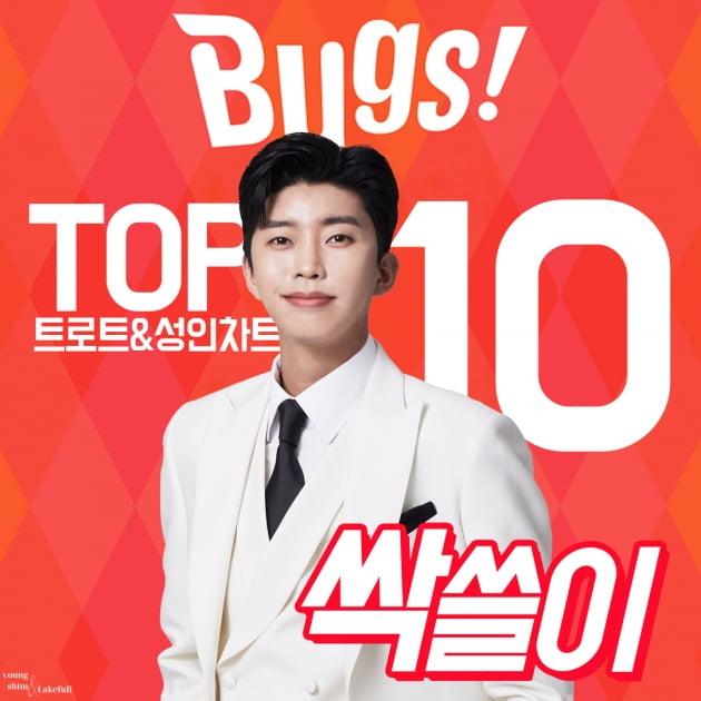 임영웅, TOP10도 모자랐나…벅스 차트 11곡 줄 세우기 대기록
