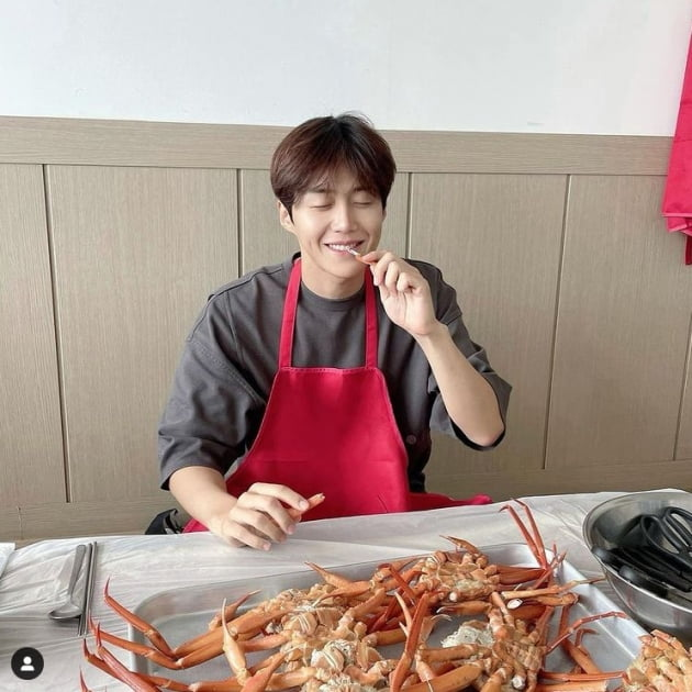 김선호, 홍반장과 홍게...'대게' 대게 좋겠다[TEN★]