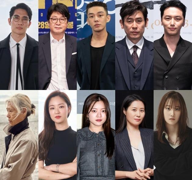 2021 부일영화상 남녀주연상 후보 / 사진=각 영화 배급사