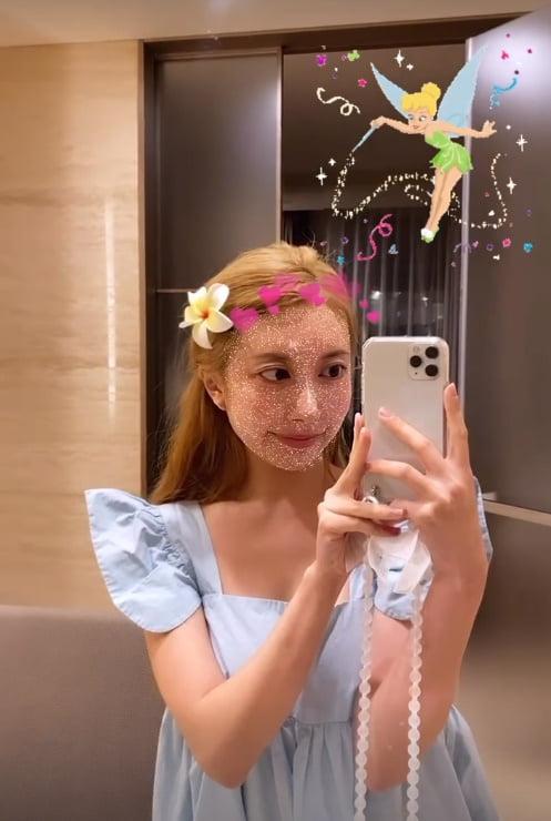 '이지훈♥' 아야네, 눈부신 금발소녀로 변신...사랑받겠네[TEN★]