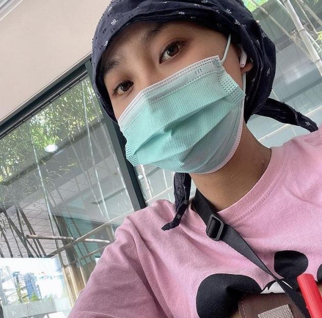 '간이식 이후' 윤주, 얼마만의 사복인지...감사하고 기쁘다[TEN★]