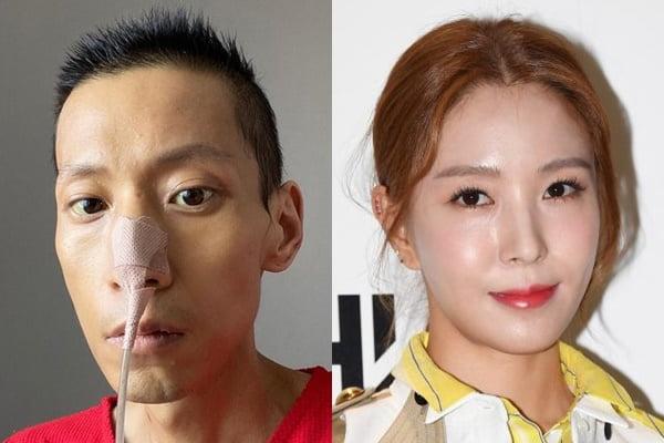 권순욱 감독(왼쪽)과 가수 보아/ 사진=인스타그램, 텐아시아DB