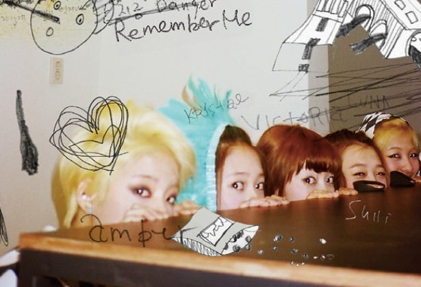 그룹 에프엑스의 다섯 멤버/ 사진=인스타그램