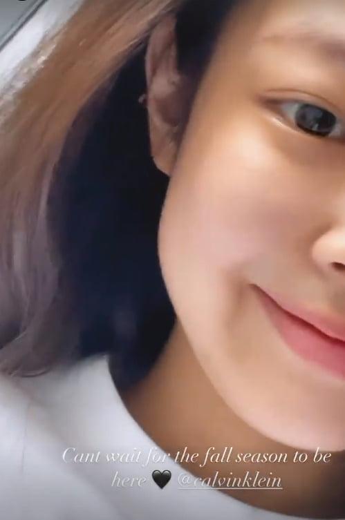 블랙핑크 제니, 순정만화에서 그대로 나온 듯한 비주얼...귀여운 젠득이[TEN★]