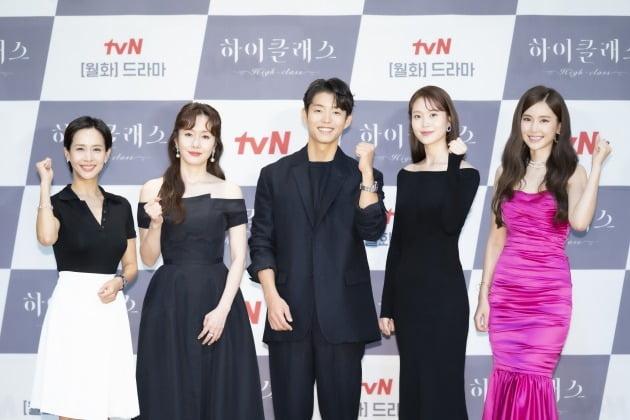 '하이클래스' 단체./사진제공=tvN