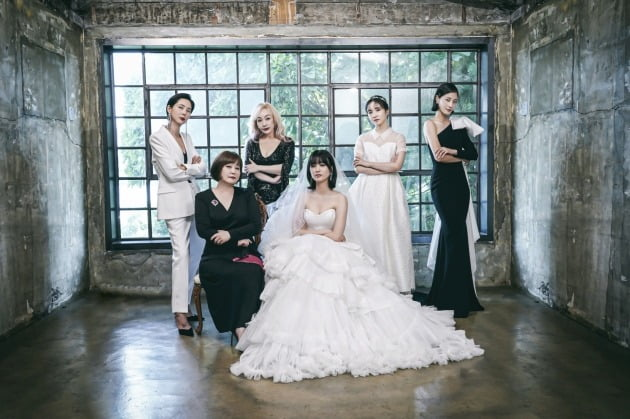 '브라이드X크럽' 출연진./사진제공=JTBC