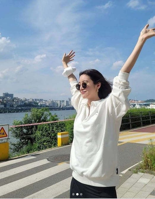 '신민철♥' 혜림,내가 좋아하는 운동 세가지 [TEN★]