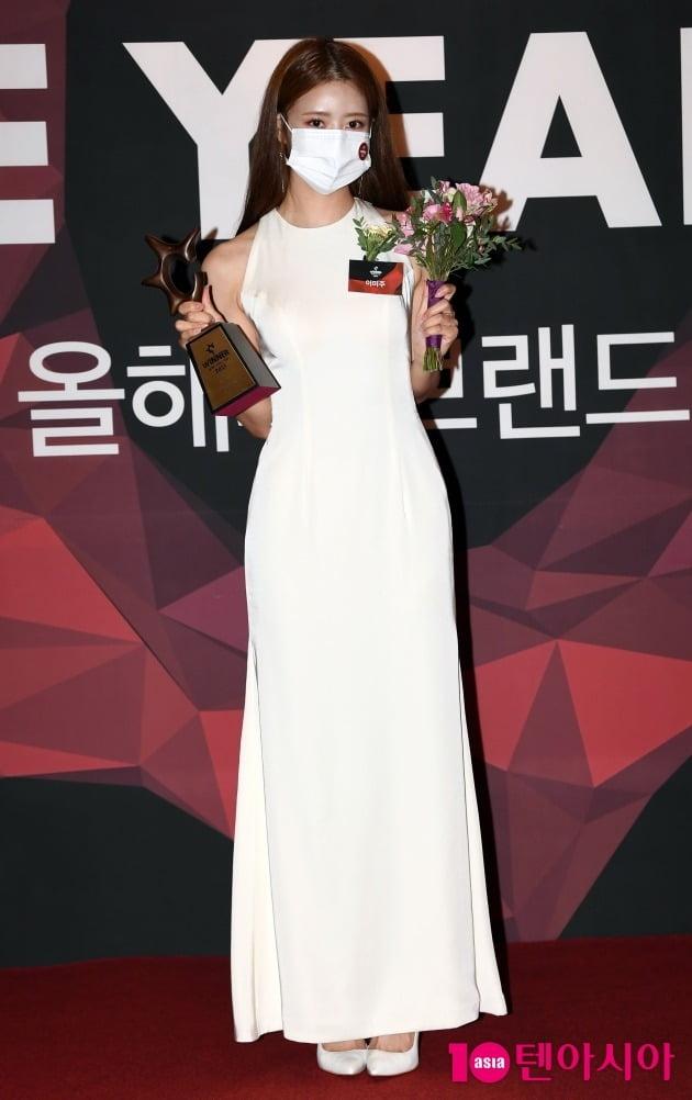 [TEN 포토] 이미주 '올해의 예능돌 수상'