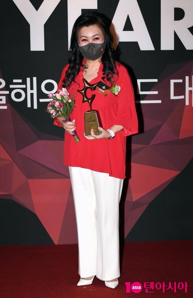 [TEN 포토] 오은영 '올해의 브랜드 대상 전문가엔터테이너 수상'