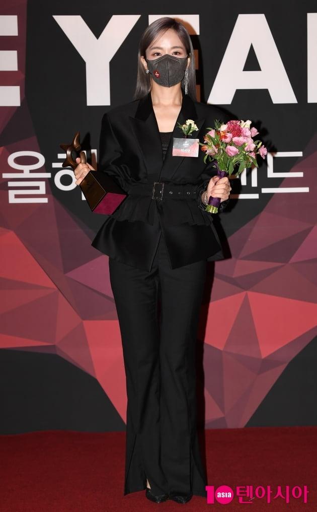 [TEN 포토] 박선영 '올해의 브랜드 대상 아나테이너 수상'