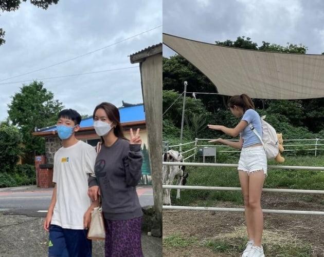 송지욱 박연수 송지아./ 사진=인스타그램