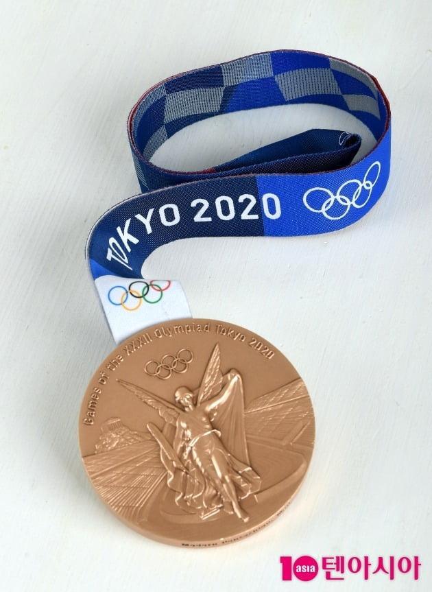 전웅태 선수의 동메달./사진=조준원 기자