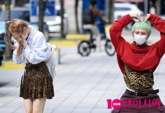 [TEN 포토] 현아 '던 하트의 수줍은 미소'