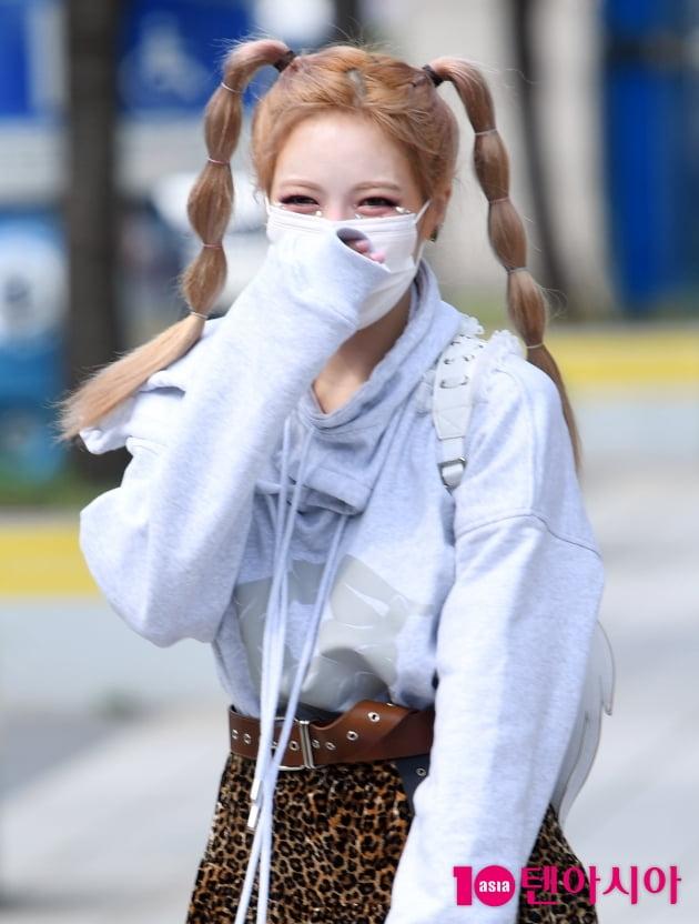 [TEN 포토] 현아 '빵 터져도 이쁨'
