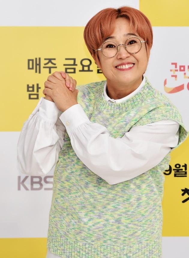 개그맨 송은이./사진제공=KBS Joy '국민 영수증'