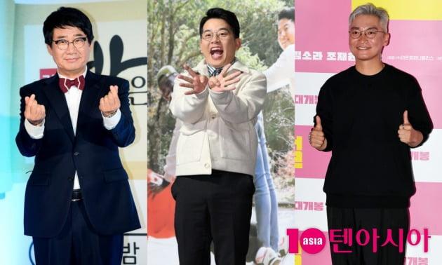 개그맨 최양락, 김준호, 배우 조재윤,/사진제공=텐아시아DB