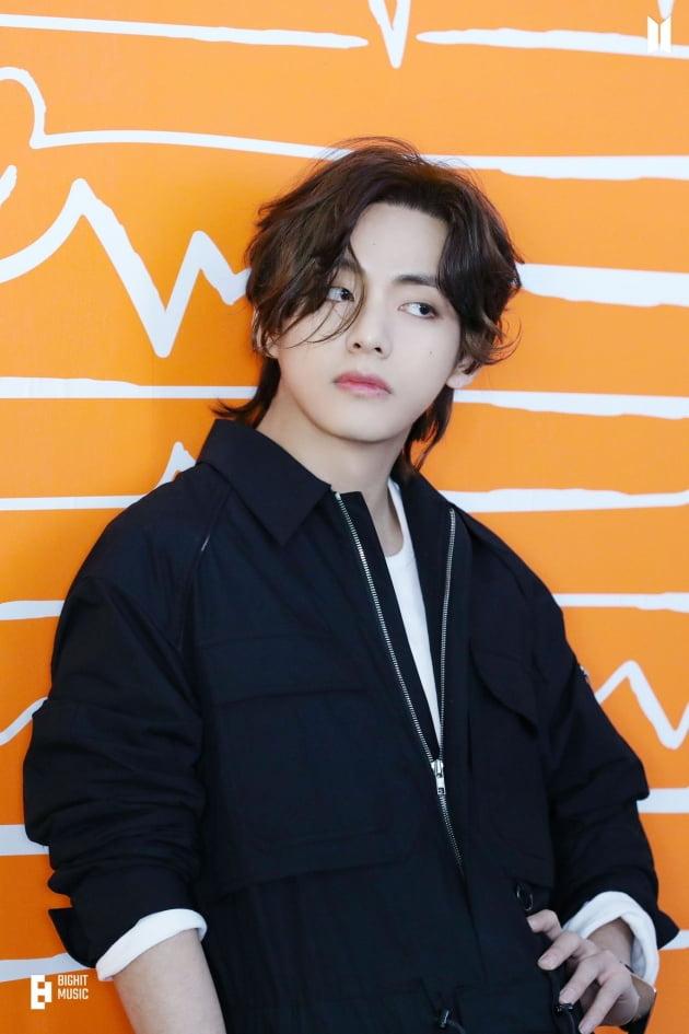 방탄소년단 뷔, 가을 발라드 뮤비 주인공에 어울리는 남돌 1위