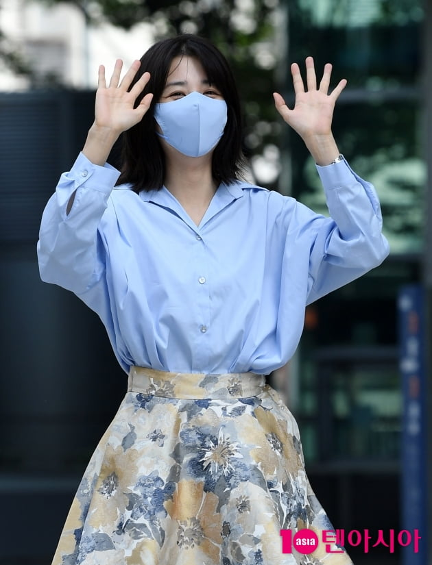 [TEN 포토] 박하선 '류수영이 반한 눈웃음'