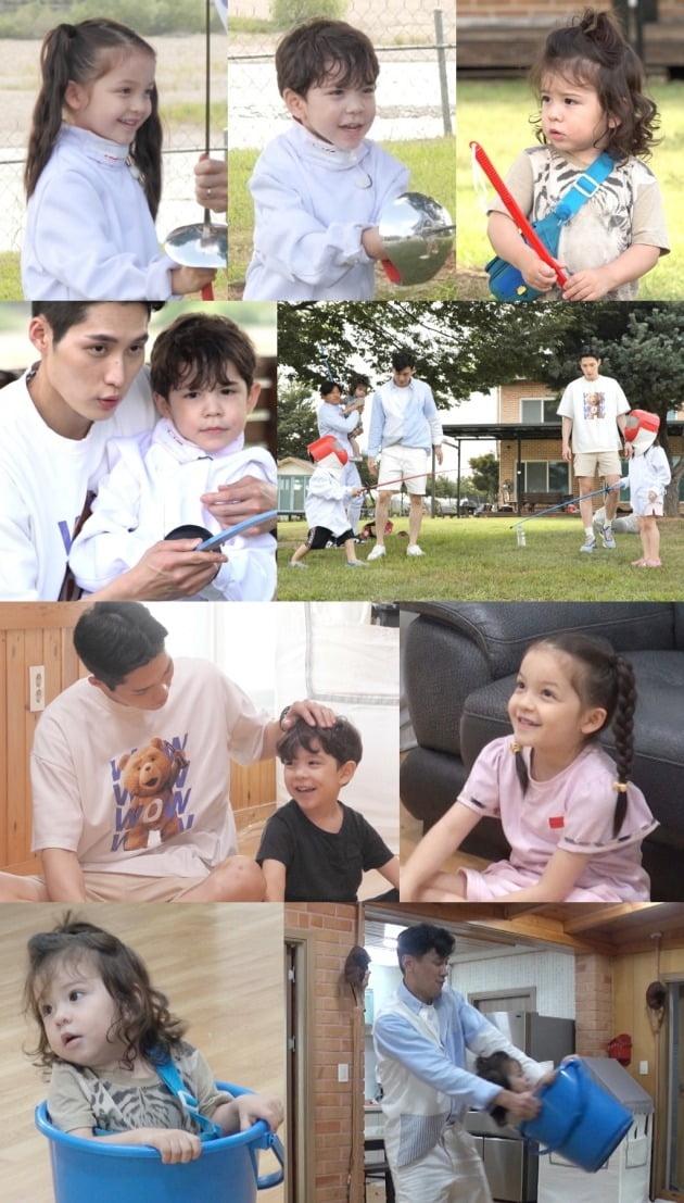 펜싱 국가대표 구본길, 김준호가 '슈퍼맨이 돌아왔다'에 출연한다. / 사진제공=KBS2