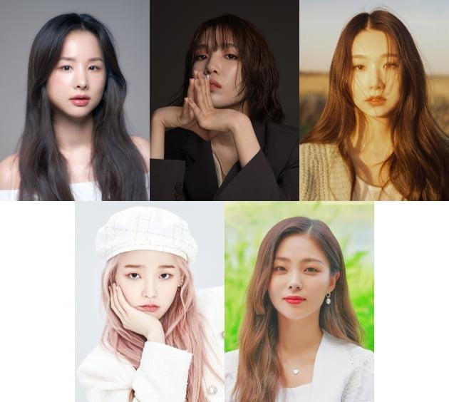 솔지·김나영·케이시·승희·HYNN, '더 리슨'으로 뭉친 음색 여신