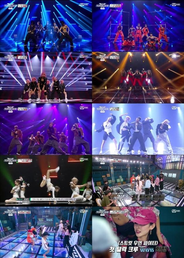 '스트릿우먼파이터' 4회/ 사진=Mnet 제공
