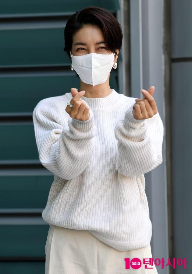 [TEN 포토] 진서연 '드라마 '원 더 우먼'사랑이 필요합니다'