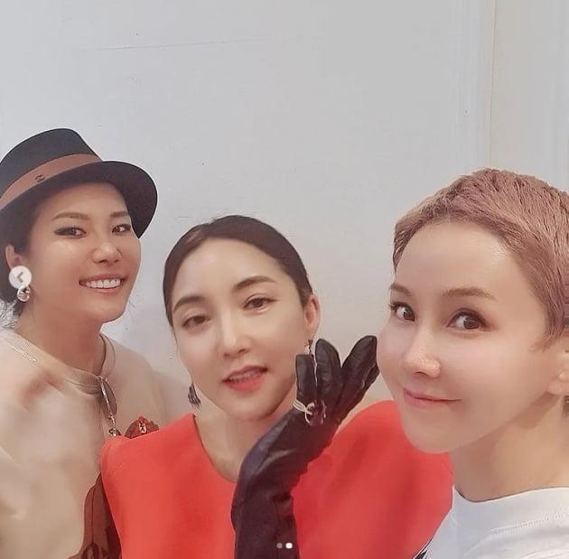 혜경, SES 바다와 박윤희 미녀모임...바다야 니가 선배야 [TEN★]