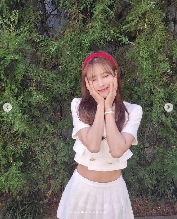 '옥천 여신' 이미주, 완벽 미모와 신비로운 분위기...11자 복근[TEN★]