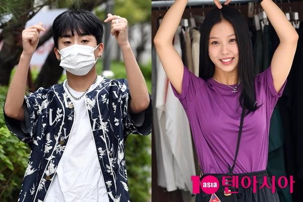 래퍼 디아크(왼쪽)와 배우 고민시/ 사진=텐아시아DB